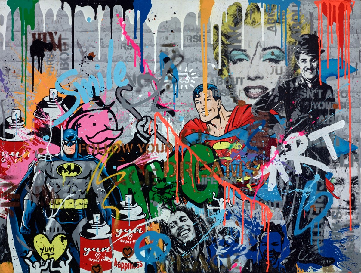 It's Not Who I Am Underneath, But What I Do That Defines Me by yuvi -  sized 40x30 inches. Available from Whitewall Galleries